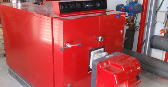 Calefacción en sector industrial